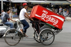 Thương hiệu Coca - Cola đang bị nghi ngờ ở Việt Nam.