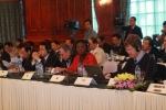 Đại diện các cơ quan, tổ chức quốc tế tham dự buổi Đốithoại.