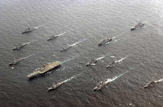 Mỹ đã dịch chuyển trọng tâm Hải quân về Thái Bình Dương để đối phó với Trung Quốc.