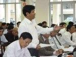 Bí thư Quận uỷ, Chủ tịch UBND quận Cẩm Lệ Võ Văn Thương cho rằng chỉ riêng ngành công an không thể giải quyết vấn nạn ma tuý, cướp giật, đòi nợ thuê… mà phải có sự vào cuộc của cả hệ thống chínhtrị