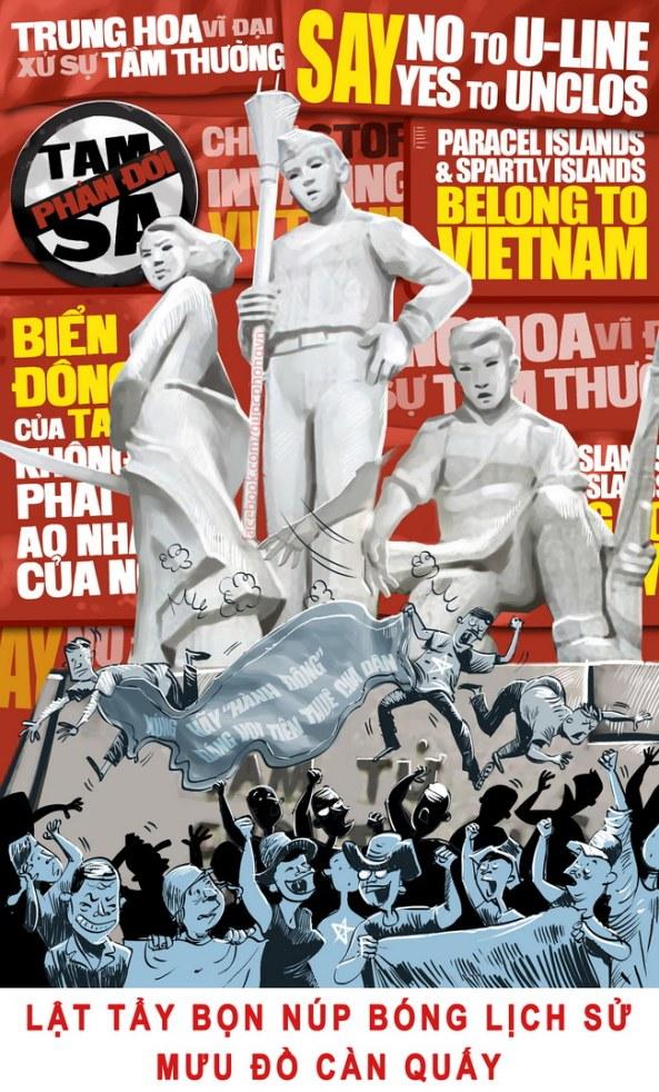 Biểu tình: Chống Trung Quốc hay lợi dụng chống Nhà nước?