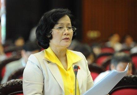 Đại biểu Quốc hội Trần Thị Quốc Khánh